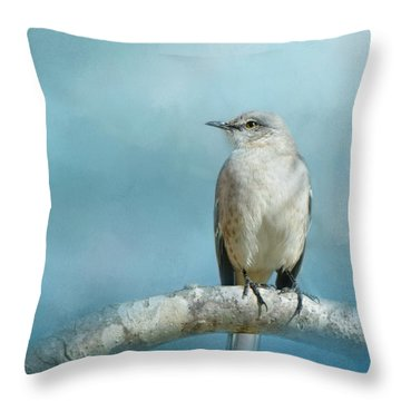 Good Winter Morning Throw Pillow