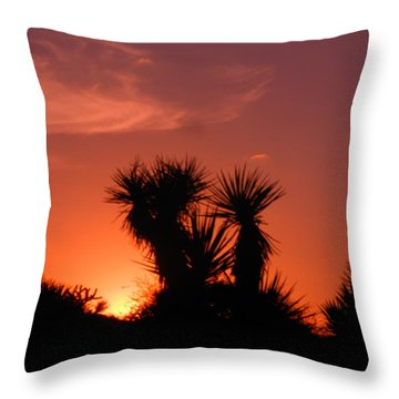 Goodevening Star Shine Throw Pillow