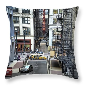 Goodman Chicago Throw Pillow