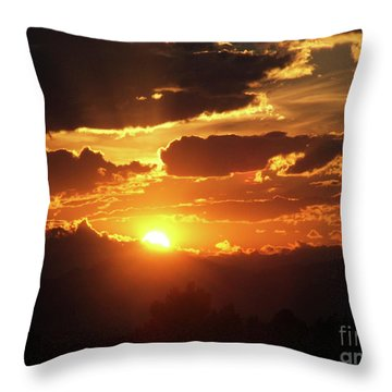 Goodnight Denver Throw Pillow
