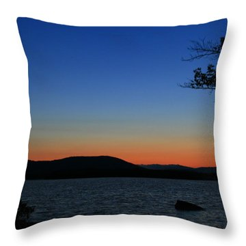 Goodnight Moon  Throw Pillow by Neal Eslinger