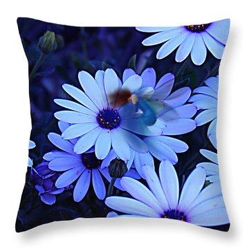 Goodnight My Fairy Throw Pillow by Kume Bryant