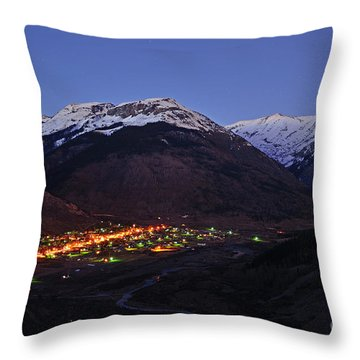 Goodnight Silverton Throw Pillow