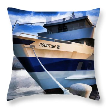 Throw Pillow featuring the photograph Goodtime IIi - Cleveland Ohio by Mark Madere