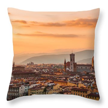 Gorgeous Florence City Throw Pillow
