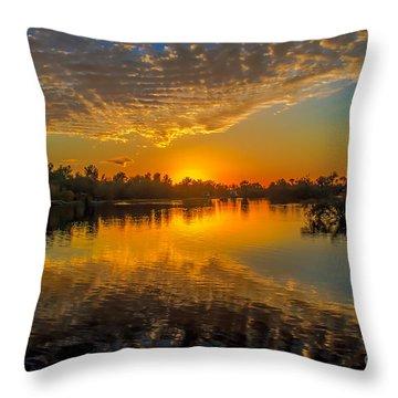 Gorgeous Sunset  Throw Pillow