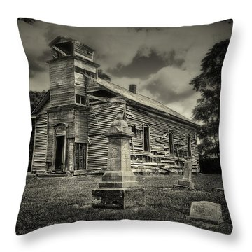 Gospel Center Church II Throw Pillow