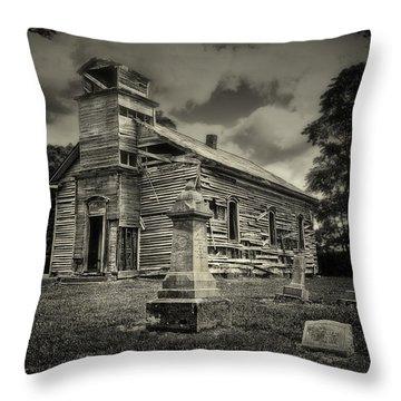 Gospel Center Church II Throw Pillow by Tom Mc Nemar