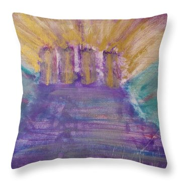 Gospel Pillars Throw Pillow