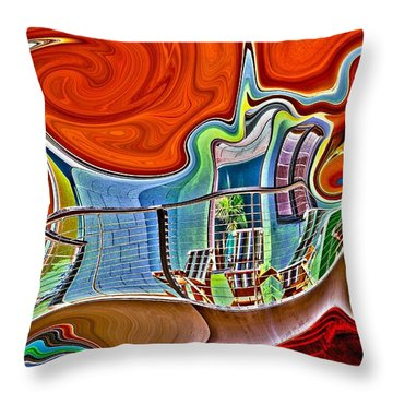 Throw Pillow featuring the photograph Gossip Session by Nick David