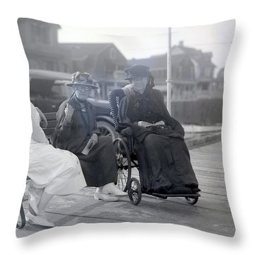 Gossip Throw Pillow