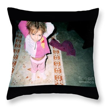 Throw Pillow featuring the photograph Got A Light by Kelly Awad