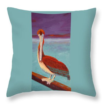 Got Fish? Throw Pillow by Nancy Jolley