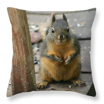 Got Food? Throw Pillow by Kym Backland