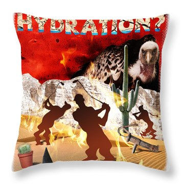 Got Hydration? Throw Pillow