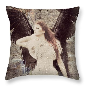 Got To Find My Way Home Throw Pillow by Riana Van Staden