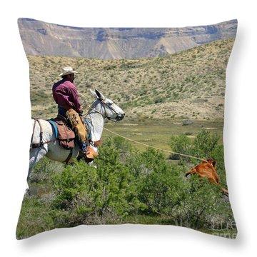Gotcha' Throw Pillow