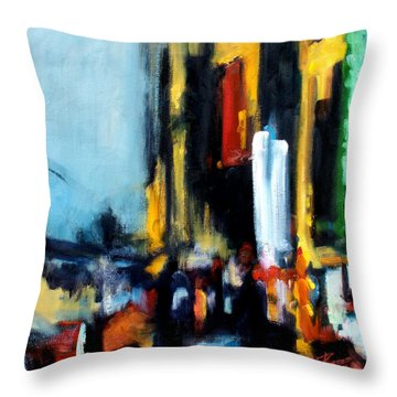 Gotham 3 Throw Pillow