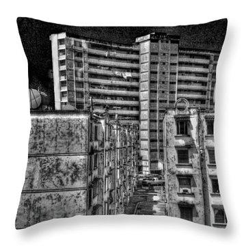 Gotham City Panama Style Throw Pillow