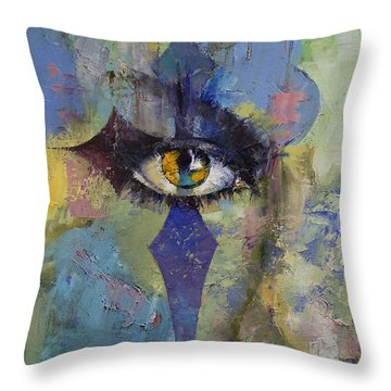 Gothic Art Throw Pillow by Michael Creese