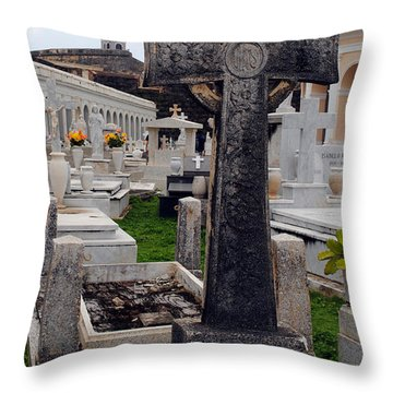 Gothic Cross Throw Pillow