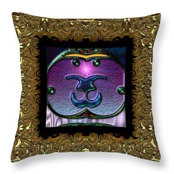 Gothic Frieze Four  Throw Pillow