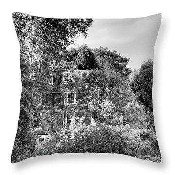Gothic Hampstead Throw Pillow by Rona Black