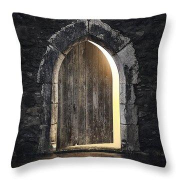 Gothic Light Throw Pillow
