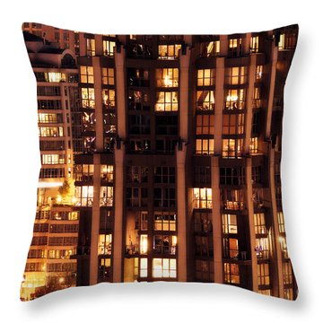 Throw Pillow featuring the photograph Gothic Living - Yaletown Ccclxxx by Amyn Nasser