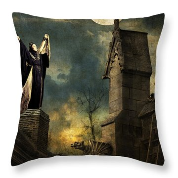Gothic Queen Throw Pillow