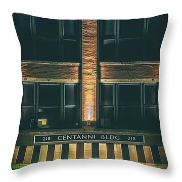 Goudas Italian Deli Color Throw Pillow