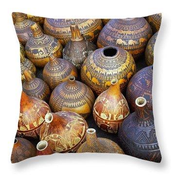 Gourds In Kenya Throw Pillow