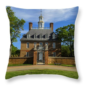Govenors Home Throw Pillow