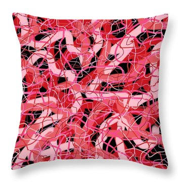Gps Overload Throw Pillow