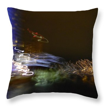 G.r. Grand River Dazzling Lights Throw Pillow