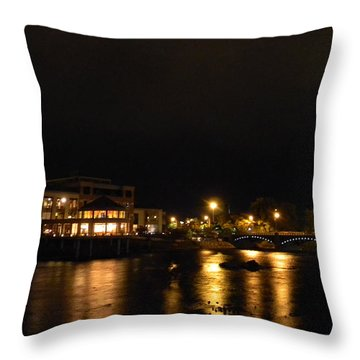 G.r. Grand River Ford Museum 1 Throw Pillow