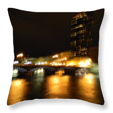 G.r. Grand River Glow Throw Pillow