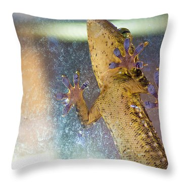 Grab A Hold Throw Pillow