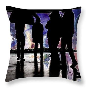 Grab Your Coats Gentlemen... Throw Pillow by J D Owen
