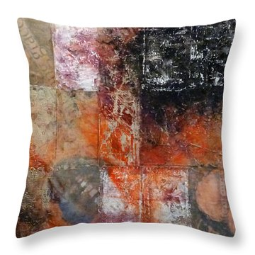Grace And Chaos Throw Pillow