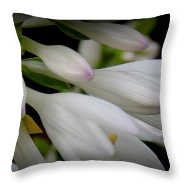 Grace At Blue Horse Rescue Throw Pillow