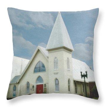 Grace Church Throw Pillow