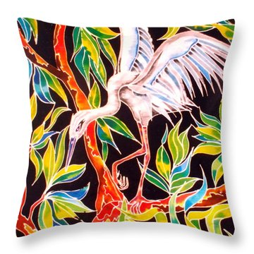 Grace In Motion Throw Pillow