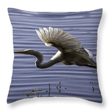 Grace In Motion Throw Pillow by Lynn Palmer