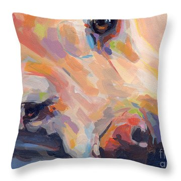 Grace Throw Pillow by Kimberly Santini