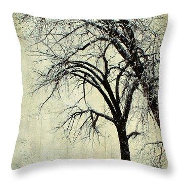 Grace Throw Pillow by Leanna Lomanski
