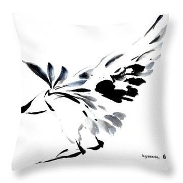 Grace Of Fortune Throw Pillow