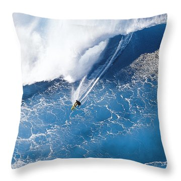 Grace Under Pressure Throw Pillow by Sean Davey