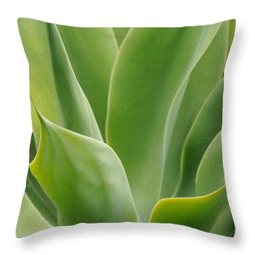 Graceful Agave Throw Pillow