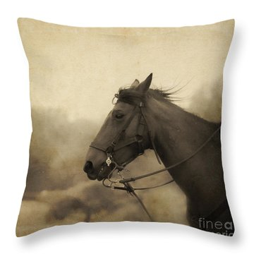 Graceful Beauty Throw Pillow